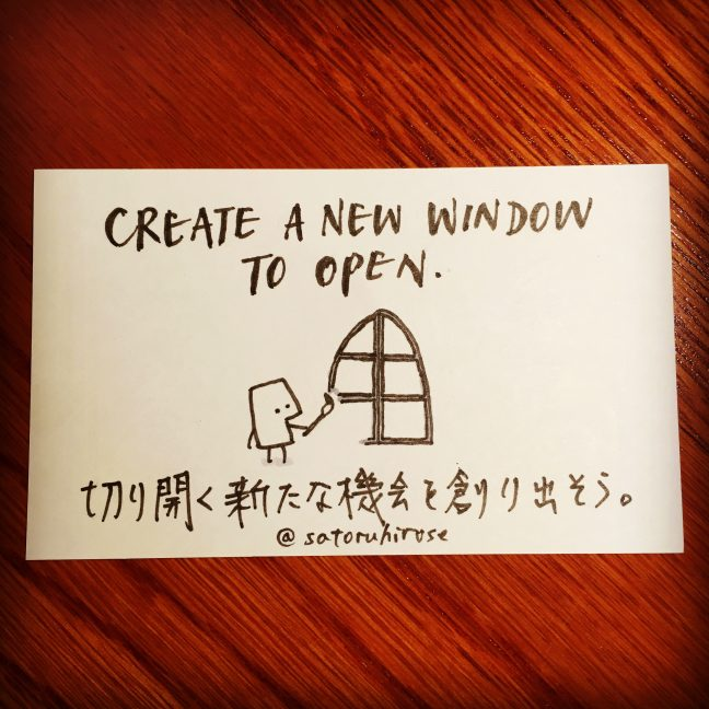 Create a new window to open.
